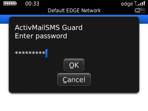 ActivMailSMS Guard 3