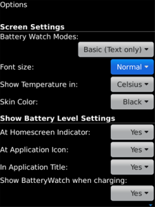 Battery Watch 3