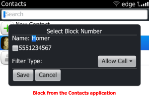 Call blocker 7