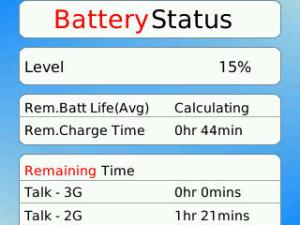 Battery Status 3