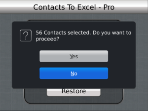 Contacts To Excel 3