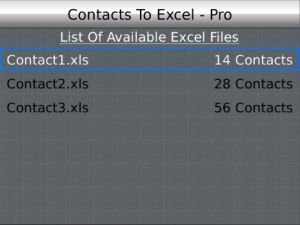 Contacts To Excel 4