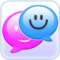 Cute Pink Doodle SMS viewer 1