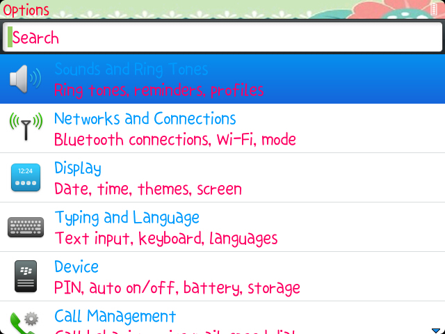 blackberry themes | MyAndroBerry
